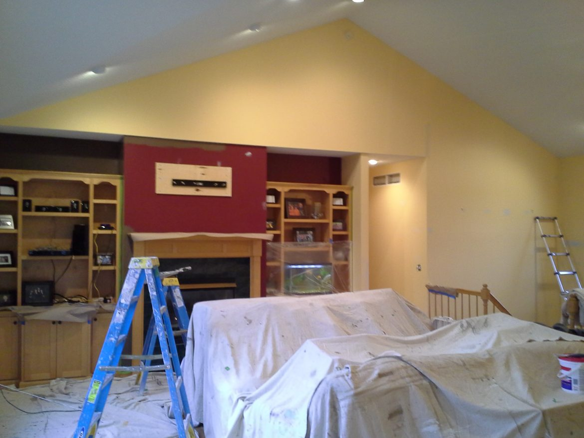 Interior Painting - Before