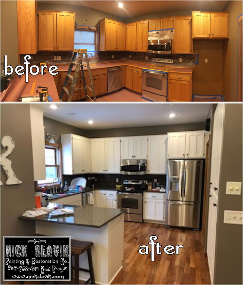 Kitchen Cabinet Company: Nick Slavik Painting And